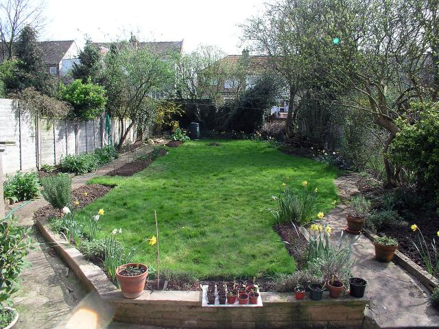 Garden on Stanhope Avenue.