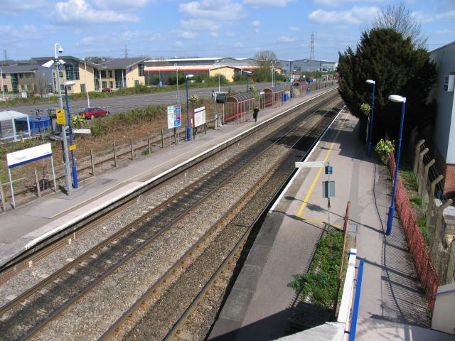 Theale Station