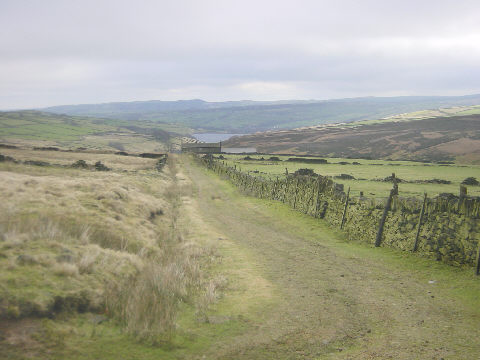 On the Kirklees Way, near Holmfirth