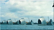 TQ4179 : The Thames Barrier by Rosalind Mitchell