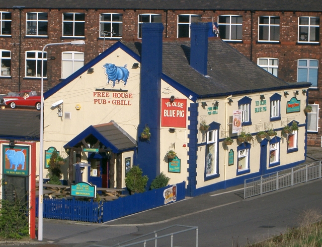The Blue Pig - Audenshaw