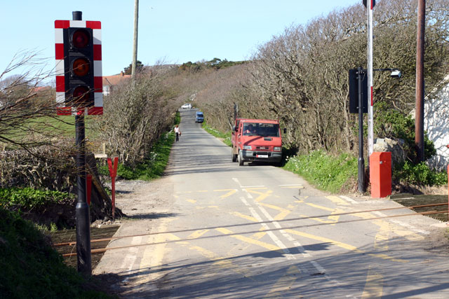 Ballagawne Level Crossing