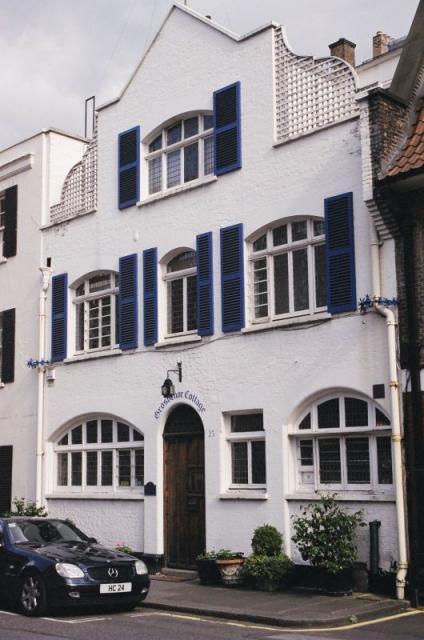 Grosvenor Cottage,  Mews behind Park Lane, London