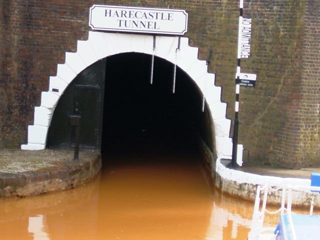 The 1827 Harecastle Tunnel