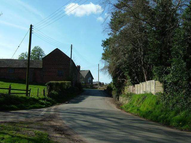 Farm Buildings, Bearstone