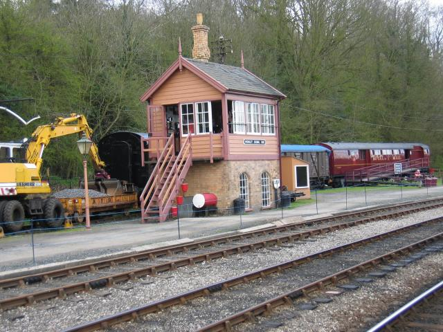 Signal Box, Highley Station, Severn Valley Railway