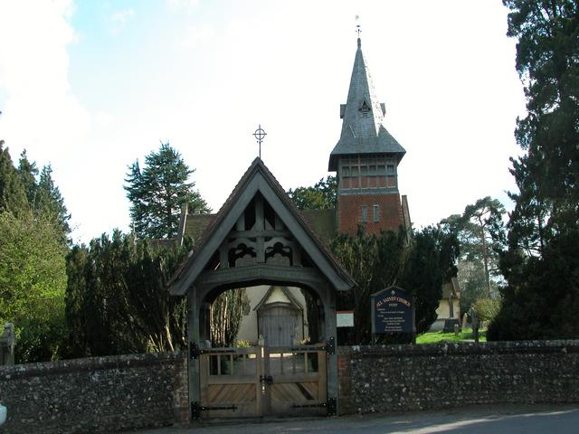 All Saints church Steep