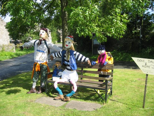 Alstonefield scarecrow festival