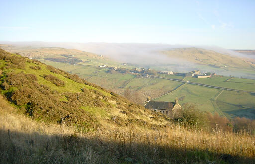 View from Hunters Hill, near Diggle
