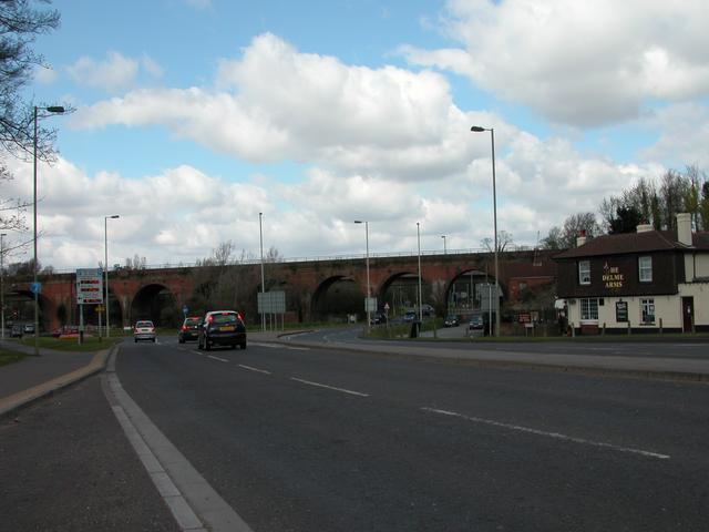 Junction of A27 & A32 Fareham.