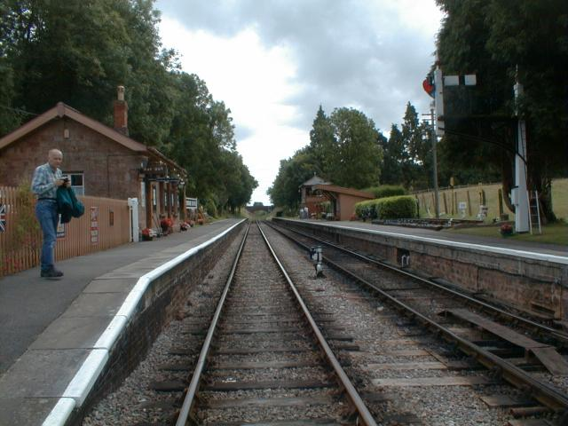 Crowcombe Heathfield station, West Somerset Railway