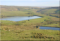 SD9909 : Castleshaw Lower Reservoir near Delph by Martin Clark