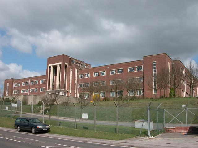 MOD Building on Portsdown Hill