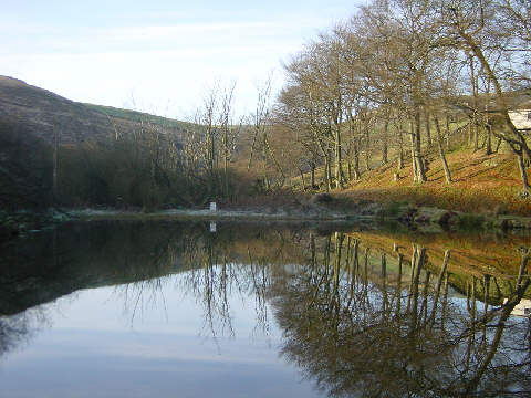 Wall Hill Brook Reservoir, Dobcross