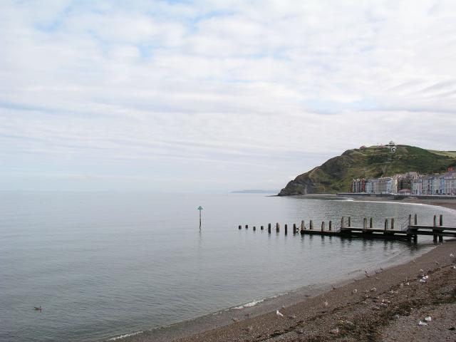 Aberystwyth Prom and beach
