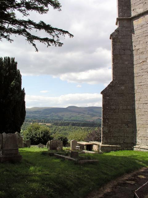 Old Radnor Churchyard