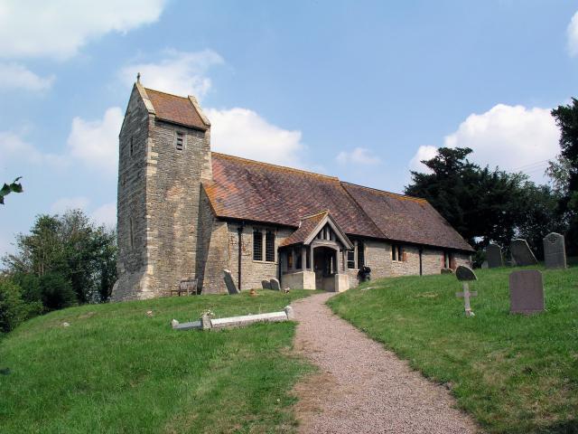 Hill Croome church