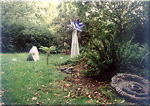 TR1161 : Druidstone sculpture and wildlife park, Blean by Penny Mayes