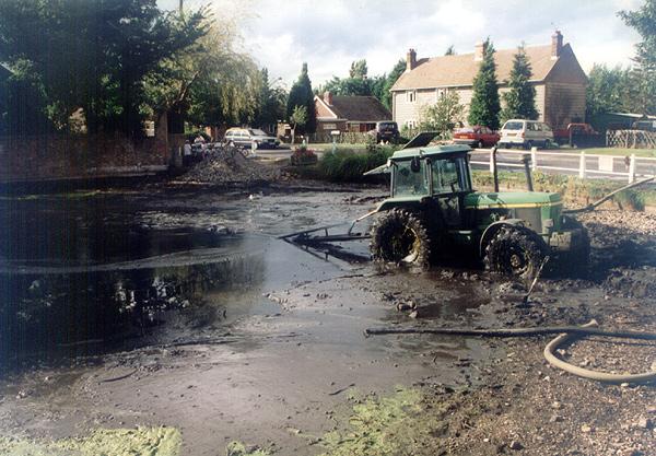 Dredging Bredgar Pond