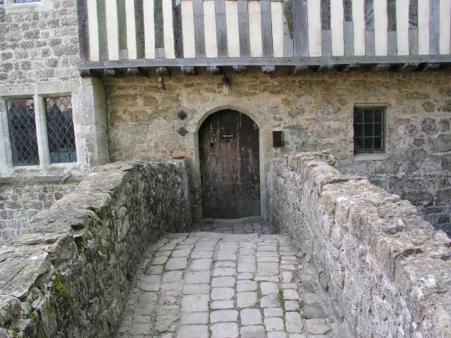The side door at Ightham Mote
