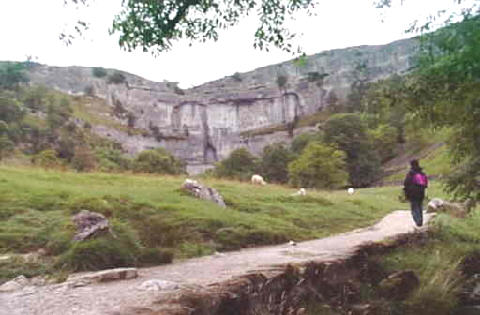 Looking towards Malham Cove