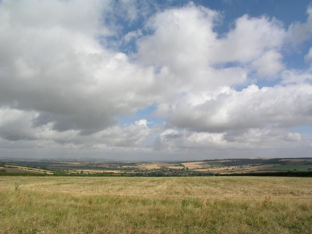 View NNW from the King Stone