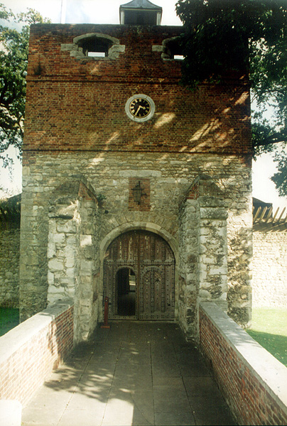 Upnor Castle main gate