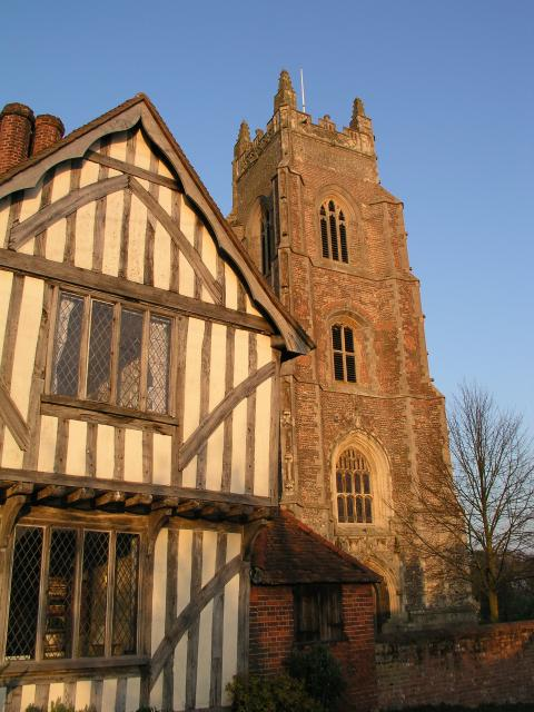 Stoke by Nayland Church