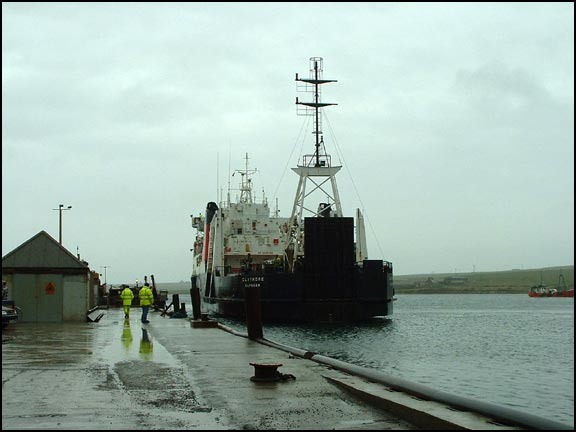 The Ferry at St Margaret's Hope, Orkney
