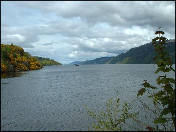 View up Loch Ness