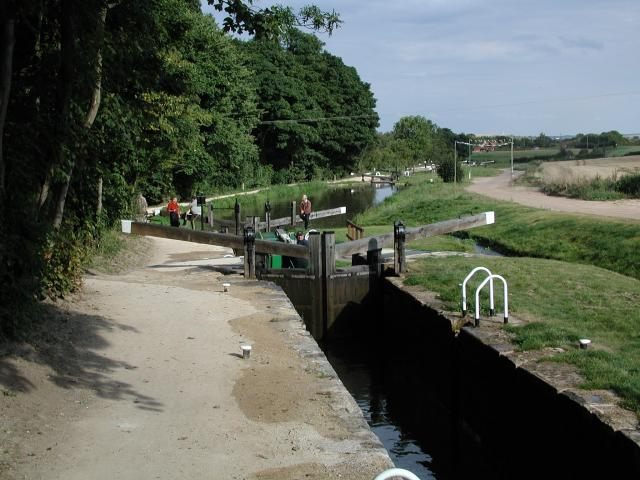 Thorpe Low Treble Locks, Chesterfield Canal