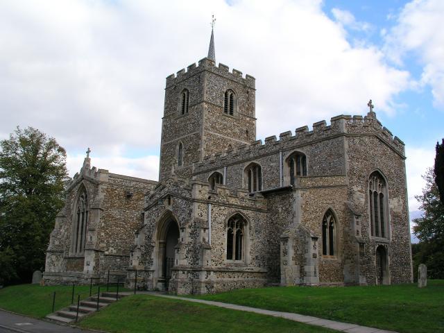 Fowlmere church