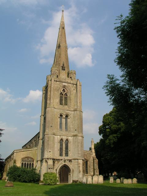 Leverington church