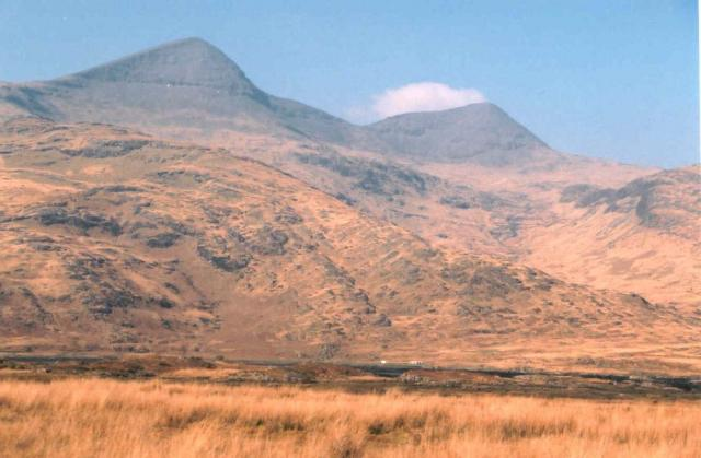 Ben More, Isle of Mull from  A849