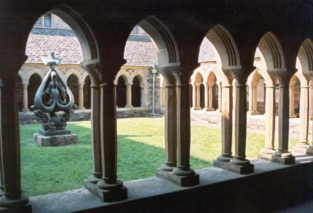 Cloisters of Abbey on the Isle of Iona