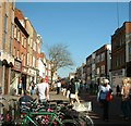 SU8604 : East Street, Chichester by Elaine Morgan