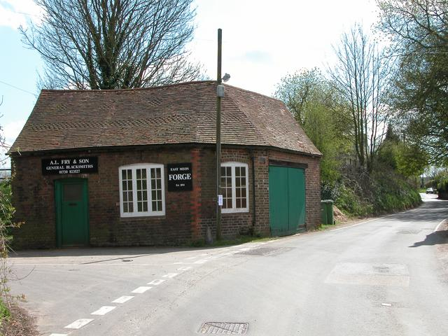 East Meon forge