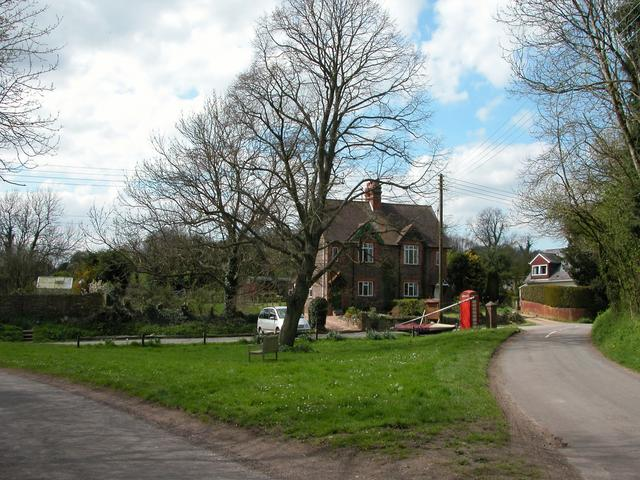Junction of unclassified roads, Ramsdean