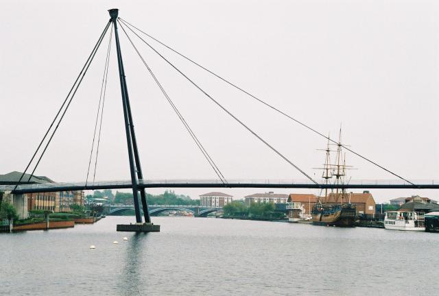 Teesquay Millennium Bridge, Stockton