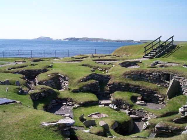Jarlshof Prehistoric Site, Shetland