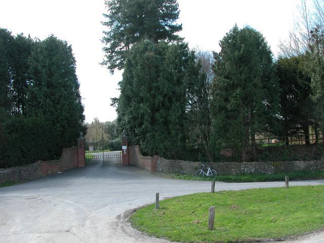 Entrance to Buriton Manor House