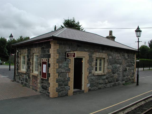 Dinas Station building, Welsh Highland Railway