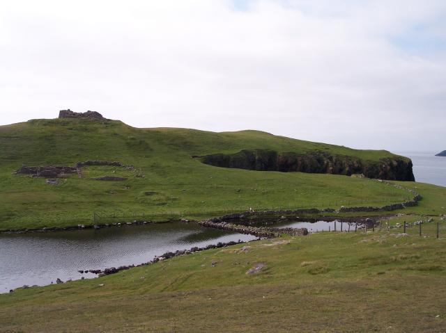 Broch of Culswick, Shetland