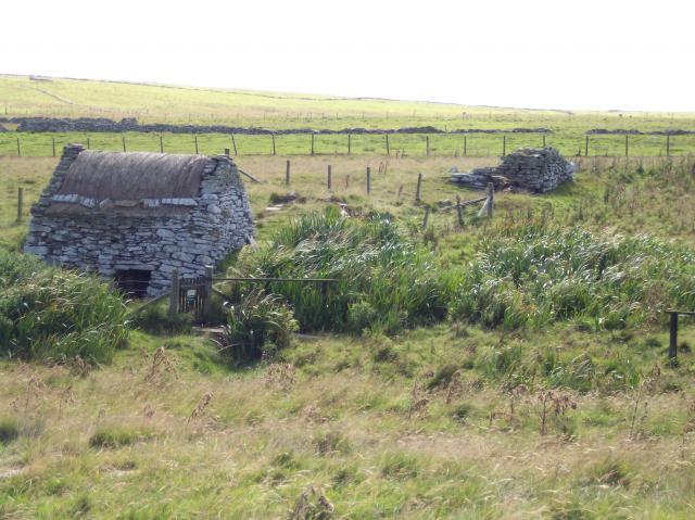 Watermill, Croft House museum, Southvoe, Shetland