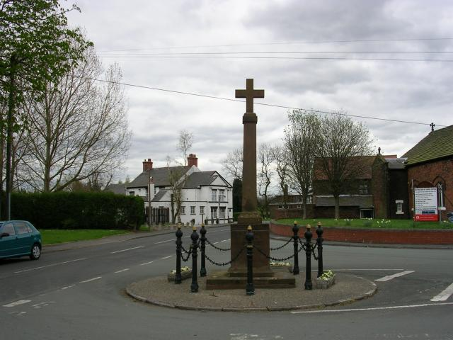 Hollins Green War Memorial