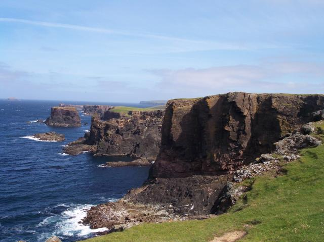 Calders Geo looking towards Moo Stack island