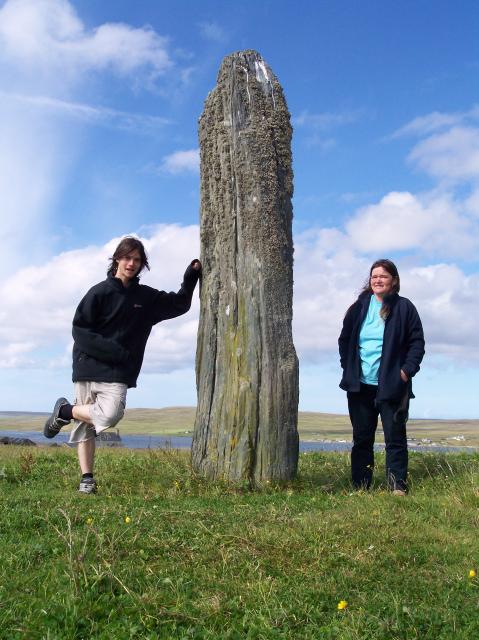 Roadside Standing Stone, near Clivocast, Unst, Shetland