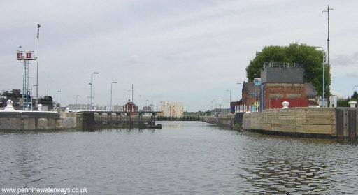 Mode Wheel Lock, Manchester Ship Canal