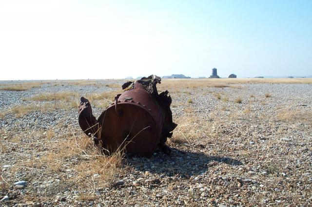 Rust at Orford Ness
