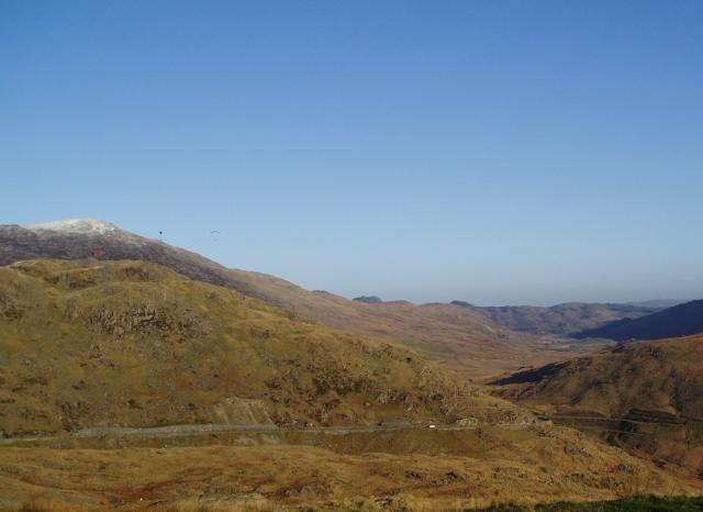 View from the foothills of Snowdon